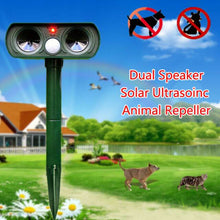 Load image into Gallery viewer, Ultrasonic Animal Pest Repeller