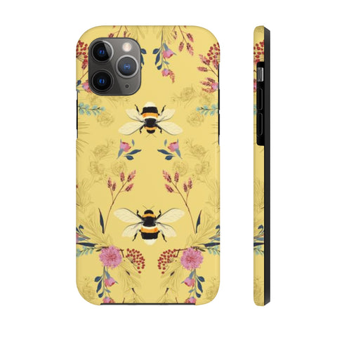HONEY BEE - Gold - Case Mate Tough Phone Case - Hayden Harlow