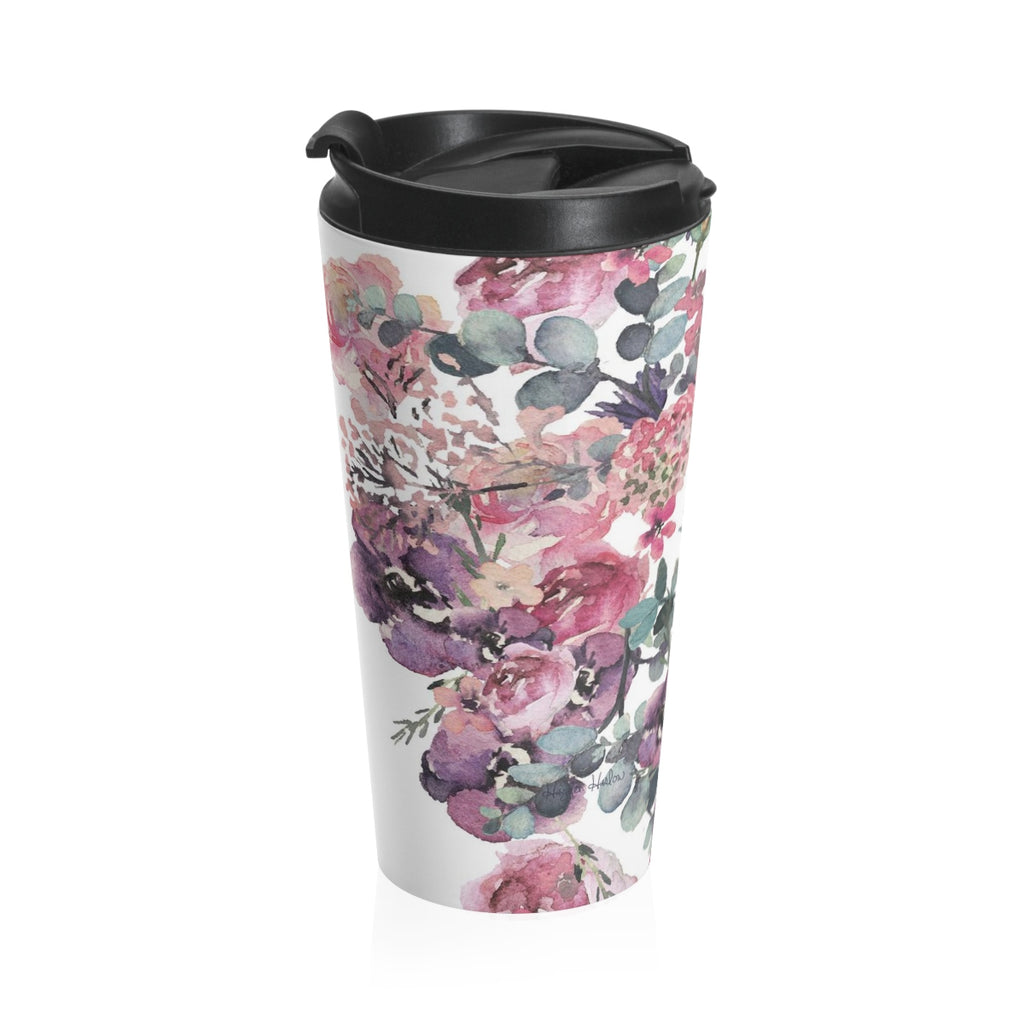 WALLACE - 15 oz. Stainless Steel Travel Mug - Hayden Harlow
