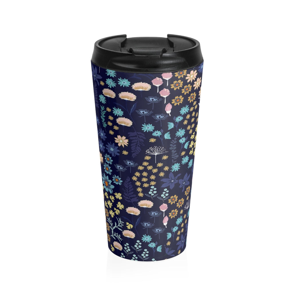 BLUE MONDAY - 15 oz Stainless Steel Travel Mug - Hayden Harlow