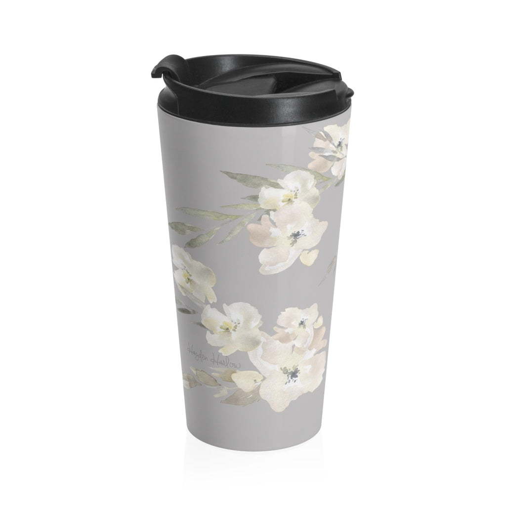 SERENA - 15 oz Stainless Steel Travel Mug - Hayden Harlow