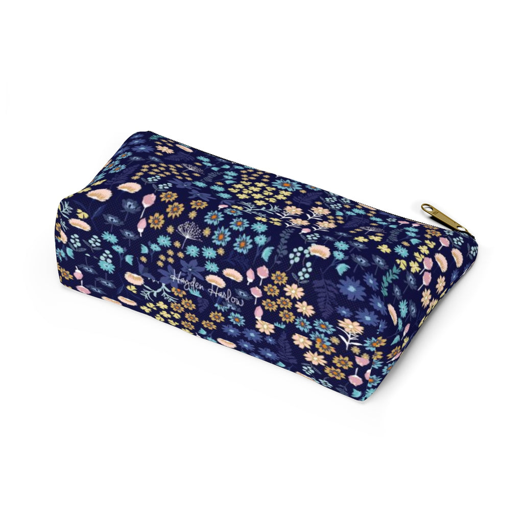 BLUE MONDAY - Makeup and Accessories pouch - Hayden Harlow