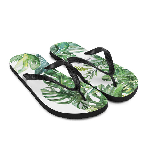 MONSTERA - Beach Flip-Flops - Hayden Harlow