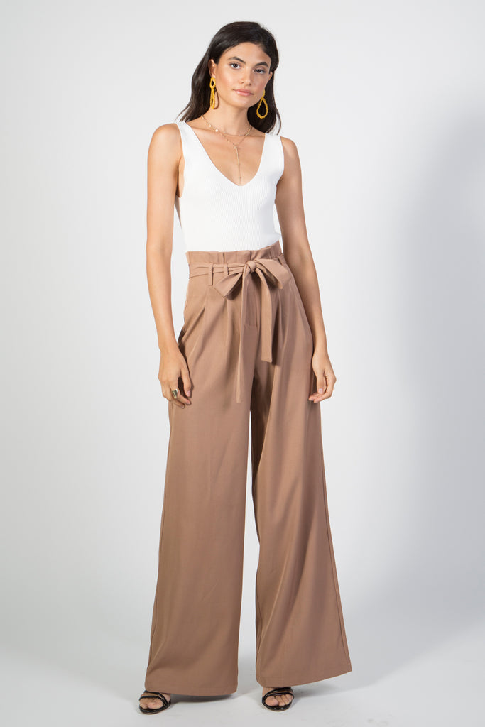 High Waisted Pant - Rare Lilie