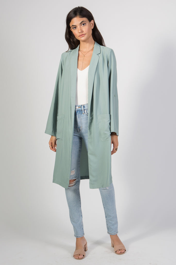 Oversized Fit Blazer - Rare Lilie