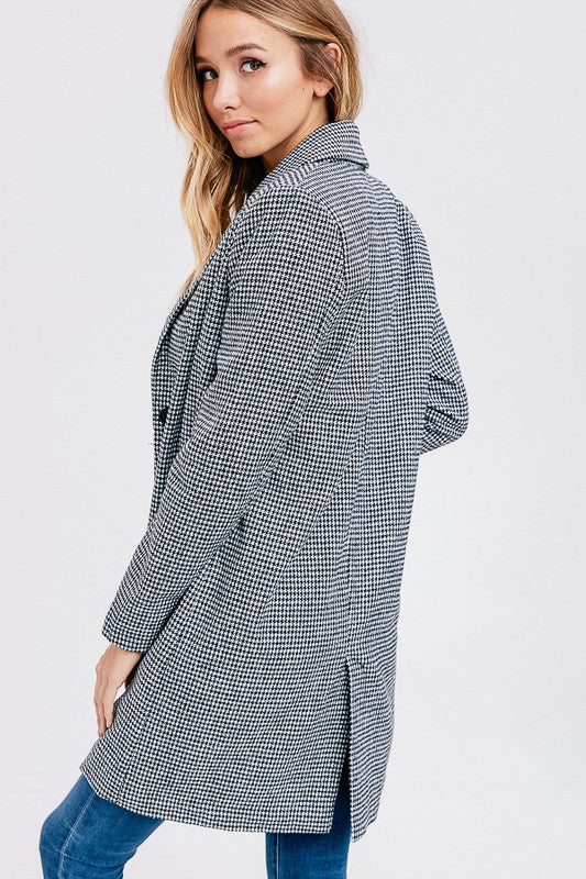 Classic Houndstooth Jacket - Rare Lilie