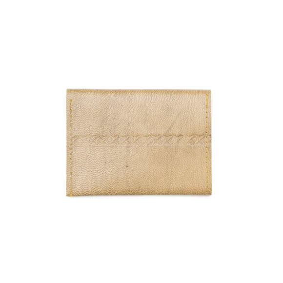 Sustainable Leather Wallet - Caramel
