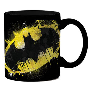 Batman Splatter Paint Ceramic Mug