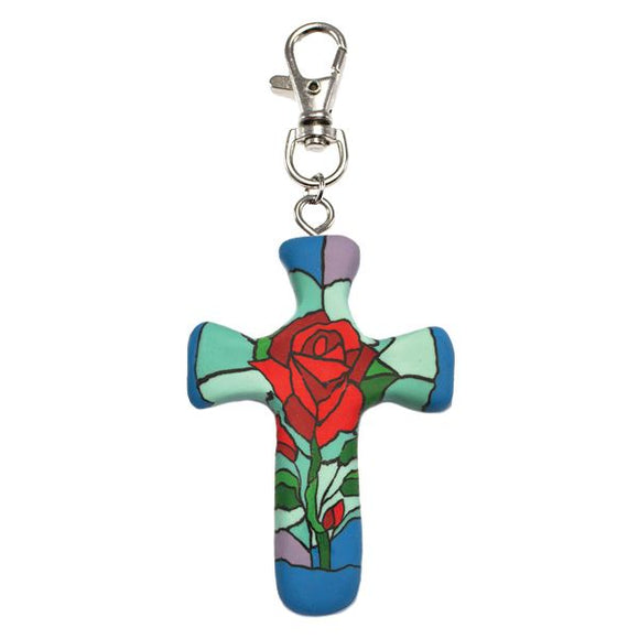 Comforting Clay Cross - Passion of Christ Rose