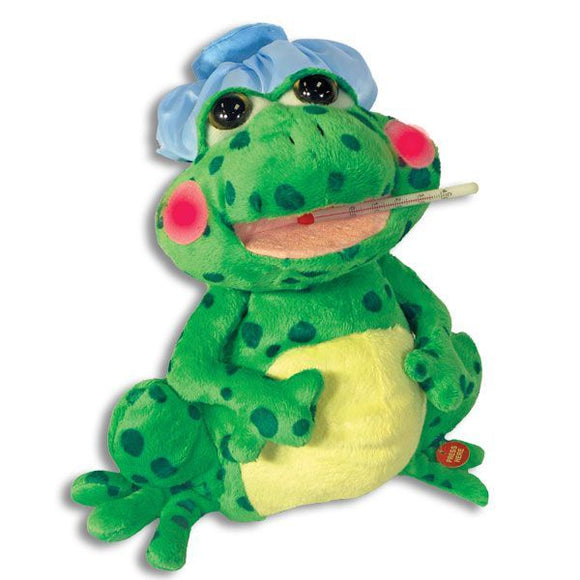 Fever Frog- Singing Plush Toy