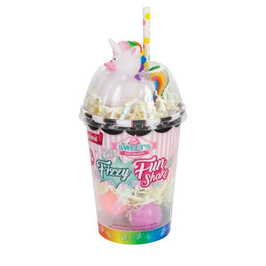 Fizzy Fun Shake - 6 Bath Bombs and Unicorn Bath Toy