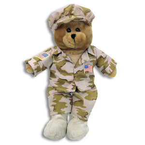 American Hero - Singing Army Bear
