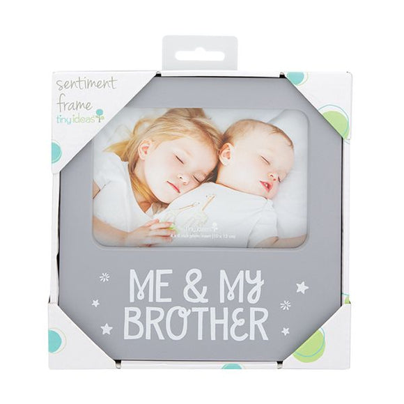 Decorative Picture Frame - Me and My Brother