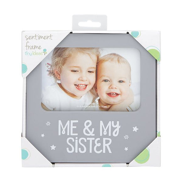 Decorative Picture Frame - Me and My Sister
