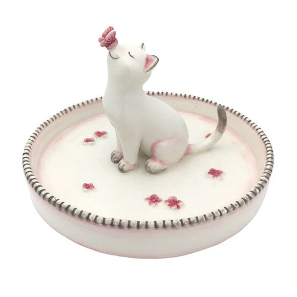 Playful Kitten Jewelry Dish