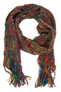 Recycled Silk Scarf - Multicolor