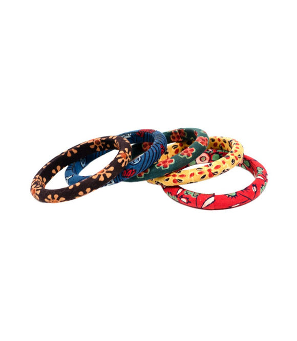 MELANGE BANGLES (SET OF 5)