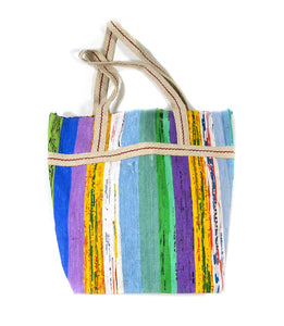Vibrant Upcycled Tote