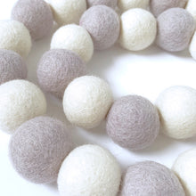 Load image into Gallery viewer, Felt Ball Garland: 1.5 metre / 3cm Felt Ball