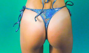 OUTERSPACE STRING THONG BIKINI BOTTOM