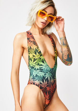 HIGH LIFE RACERBACK SWIMSUIT