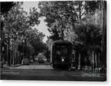 New Orleans Street Car - Canvas Print