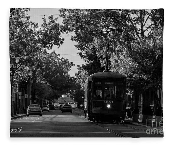 New Orleans Street Car - Blanket