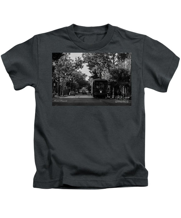 New Orleans Street Car - Kids T-Shirt