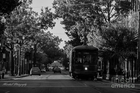 New Orleans Street Car - Art Print