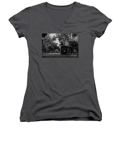 New Orleans Street Car - Women's V-Neck (Athletic Fit)
