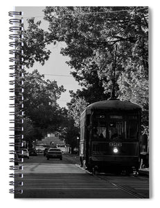 New Orleans Street Car - Spiral Notebook