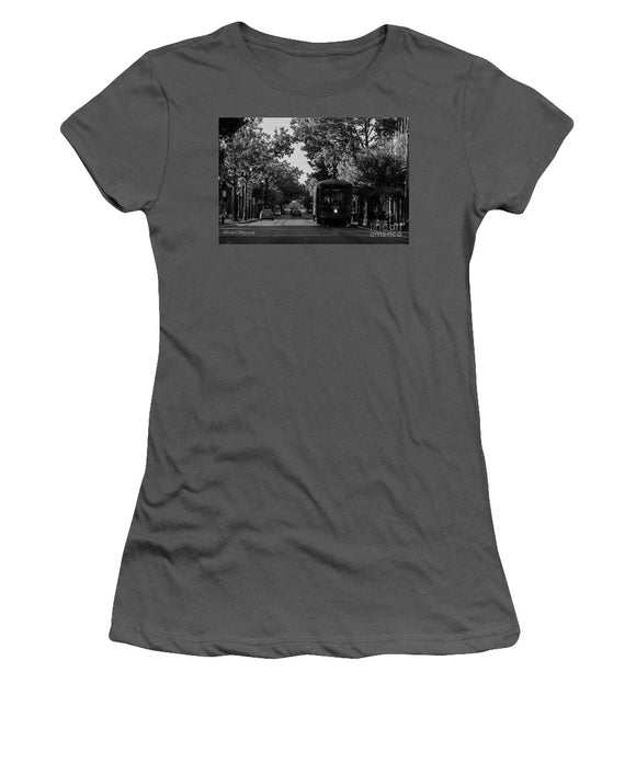New Orleans Street Car - Women's T-Shirt (Athletic Fit)
