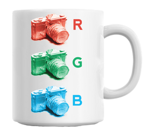 Oldschool RGB Camera Mug