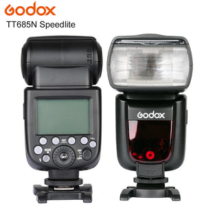 New Arrived Godox TT685 TT685 Speedlite High-Speed Sync External TTL for Nikon D800 D750 D600 D5000 for Canon 1200D 650D 750D 6D