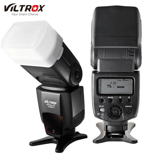 VILTROX JY-680A Universal LCD Photo Flash Speedlight Speedlite for Canon Nikon Pentax Olympus Cameras