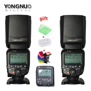 2xYONGNUO YN600EX-RT II +YN-E3-RT Master Flash Speedlite for Canon RT Radio Trigger System ,ST-E3-RT,600EX-RT
