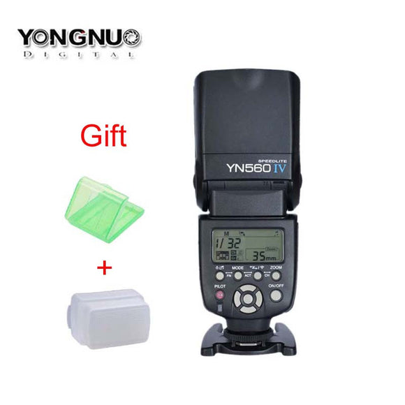 Newest YONGNUO YN560-IV 2.4G Wireless Master & Group Flash Speedlite for Canon Nikon Pentax Sony Cameras,YN-560 IV,YN560IV