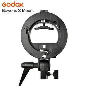 PRO Godox S-Type Bracket Bowens S Mount Holder for Speedlite Flash Snoot Softbox Beauty Dish Honeycomb