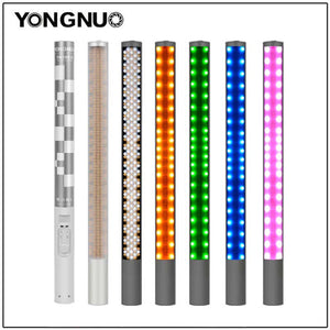 Yongnuo YN360 YN360 II Handheld Ice Stick LED Video Light built-in battery 3200k to 5500k RGB colorful controlled by Phone App