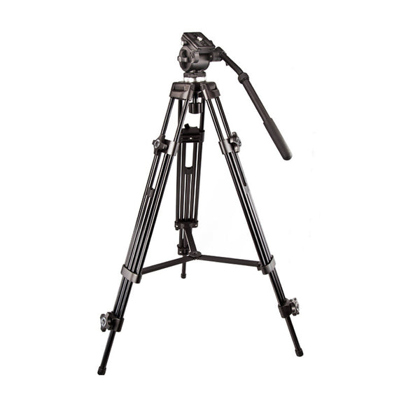 Weifeng WF-717 1.8m Professional Heavy Duty Video Camcorder Tripod with Fluid Head