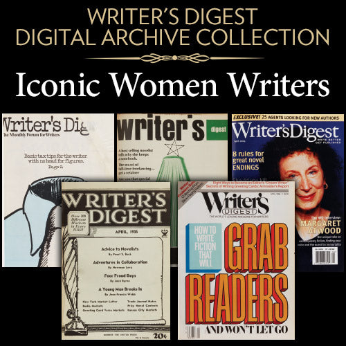 Writer's Digest Digital Archive Collection: Iconic Women Writers