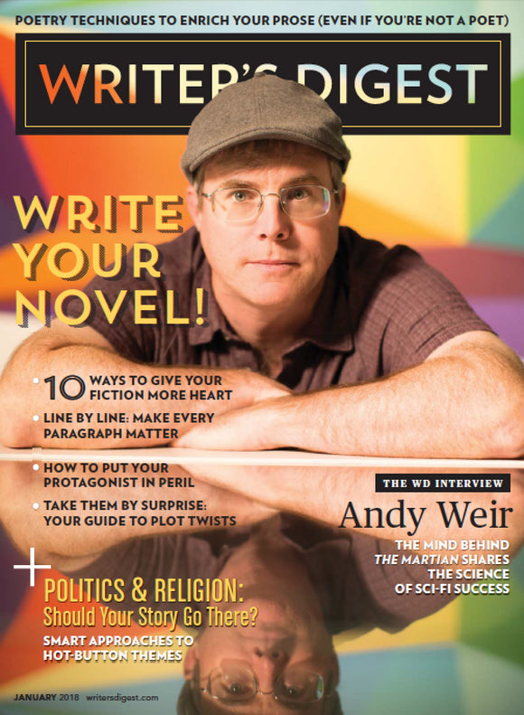 Writer's Digest January 2018 Digital Edition