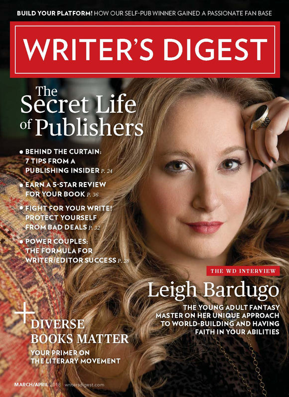 Writer's Digest March/April 2018 Digital Edition