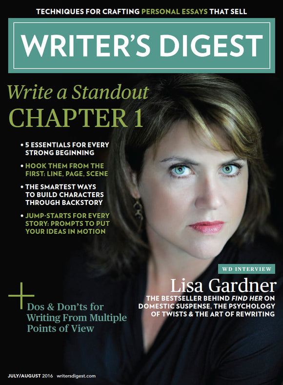 Writer's Digest July/August 2016 Download