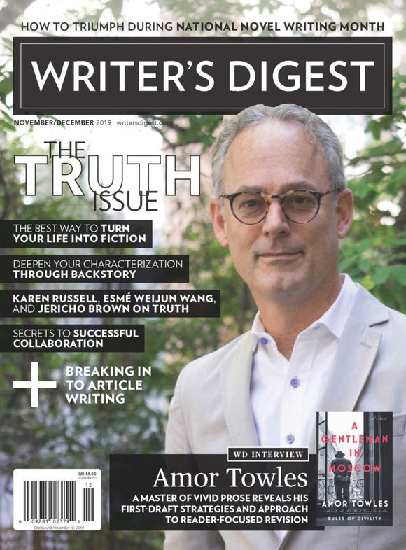 Writer's Digest November/December 2019 Digital Edition