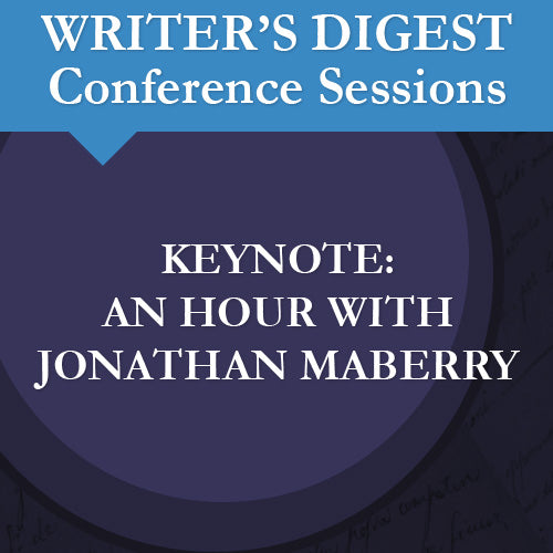 Keynote: An Hour with Jonathan Maberry Audio Download