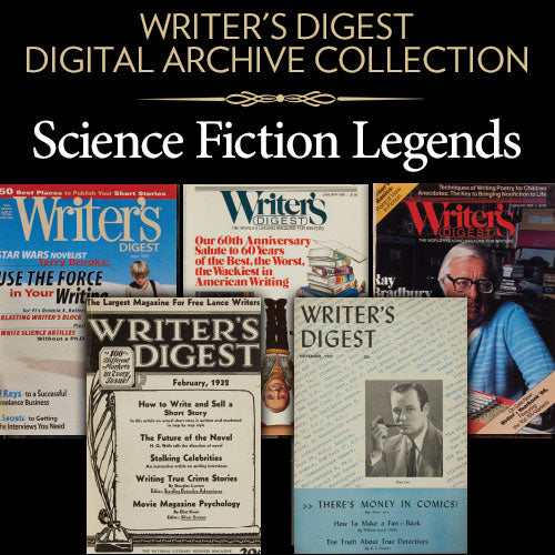 Writer's Digest Digital Archive Collection: Science Fiction Legends