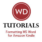 Formatting MS Word for Amazon Kindle Video Download