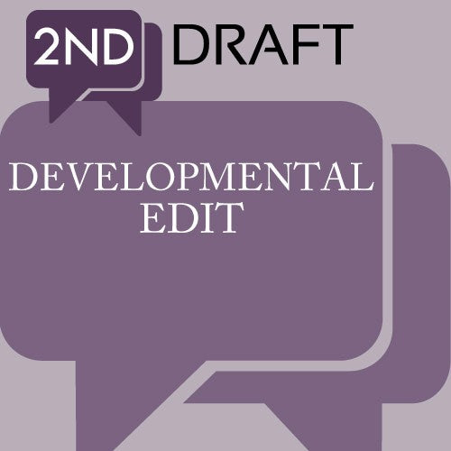 2nd Draft: Developmental Editing Service (AKA Manuscript Development Notes) Extra Pages