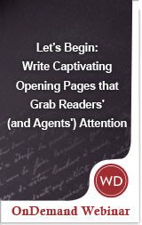 Let's Begin: Write Captivating Opening Pages that Grab Readers' (and Agents') Attention Video Download